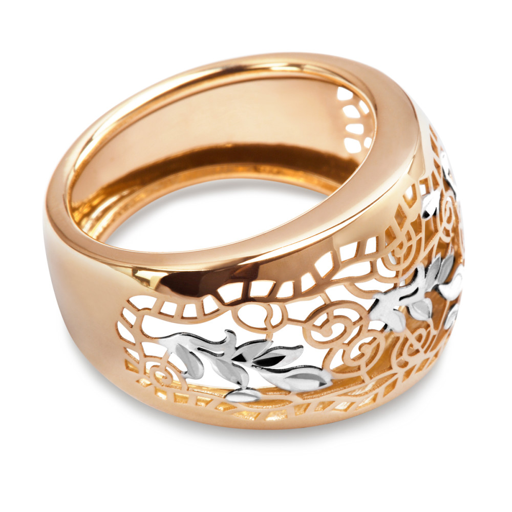 ed90fe96dc4ba9 Złoty pierścionek marki Verona EA11717